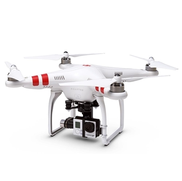 DJI CP.PT.000083H3-3D Phantom 2 Ready to Fly, Multi-Rotor Aircraft and Zenmuse H3-3D Gimbal for GoPro 3 (customized)