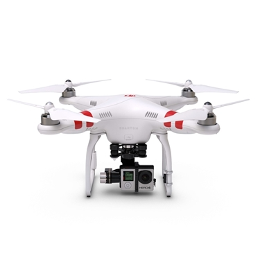 DJI CP.PT.000142 Phantom 2 Ready to Fly, Multi-Rotor Aircraft and Zenmuse H4-3D Gimbal for GoPro Hero4