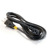 C2G / Cables to Go 27909 18 AWG Universal Right Angle Power Cord 10Ft