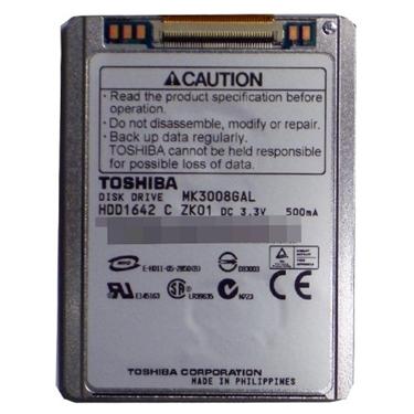 """Used - Toshiba MK3008GAL 30GB 1.8"""" iPod Hard Drive"""