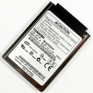 """Toshiba MK6006GAH 60GB UDMA/100 4200RPM 2MB 1.8"""" Mini Hard Drive"""