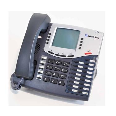 Intertel Axxess 550.8560 Charcoal Display Phone