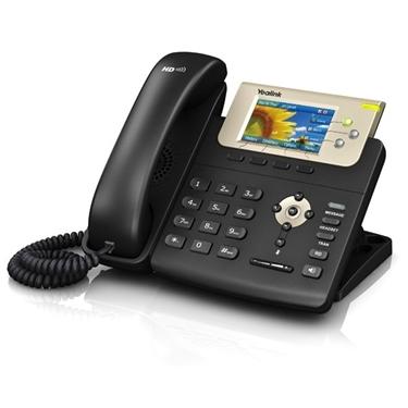 Yealink YEA-SIP-T32G 3-Line Gigabit Color Corded IP Phone