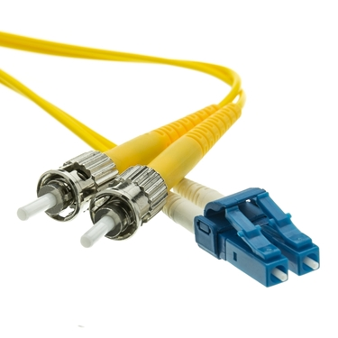 Nexhi NXH-LCST-01201-CW LC To ST Fiber Optic Single-Mode Cable