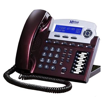 XBlue Networks Speakerphone-Red Mahogany