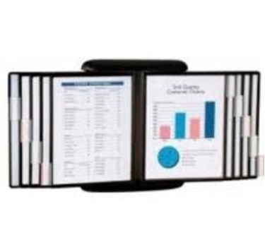 Aidata FDS022L E-Z Wall Mount Reference Organizer