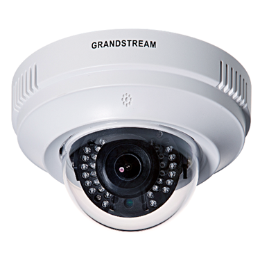 Grandstream GXV3611IR_HD 720P H.264 Indoor Infrared Fixed Dome HD IP Camera with PoE