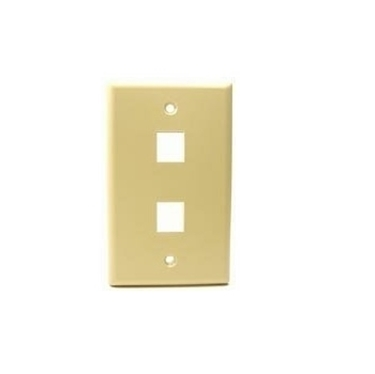 Nexhi UTP-3502 2 Position Face Place - Ivory