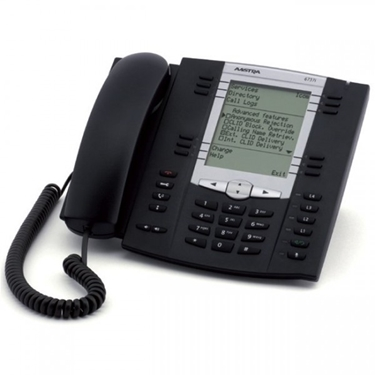 Astra AASTRA-6737 HD Audio and GigE in an Advanced Featured, Expandable IP Phone