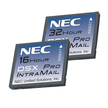 NEC DSX Systems NEC-1091051 VM DSX IntraMailPro 4Port 16Hr Voicemail