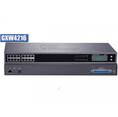 GrandStream GXW4216 GXW4200 Series 16 Ports High-Density FXS Gateway
