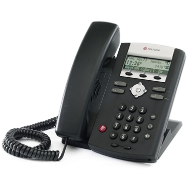 Polycom 2200-12360-001 SoundPoint IP 321 Entry-Level Phone with PoE and Power Supply