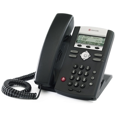 Polycom 2200-12365-025 SoundPoint IP 321 Entry-Level Phone with PoE