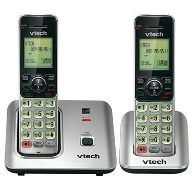 Vtech CS6619-2 DECT 6.0 Expandable 2 Handsets Cordless Phone
