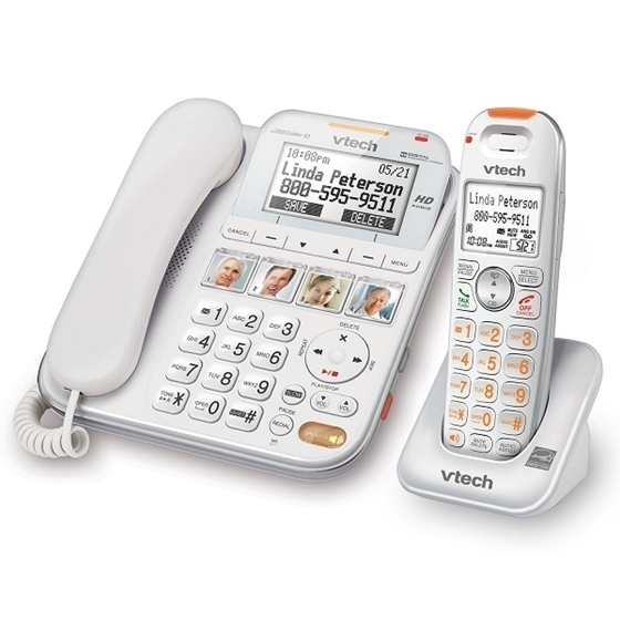 71e7a75d278 Vtech CareLine Corded  Cordless Answering System