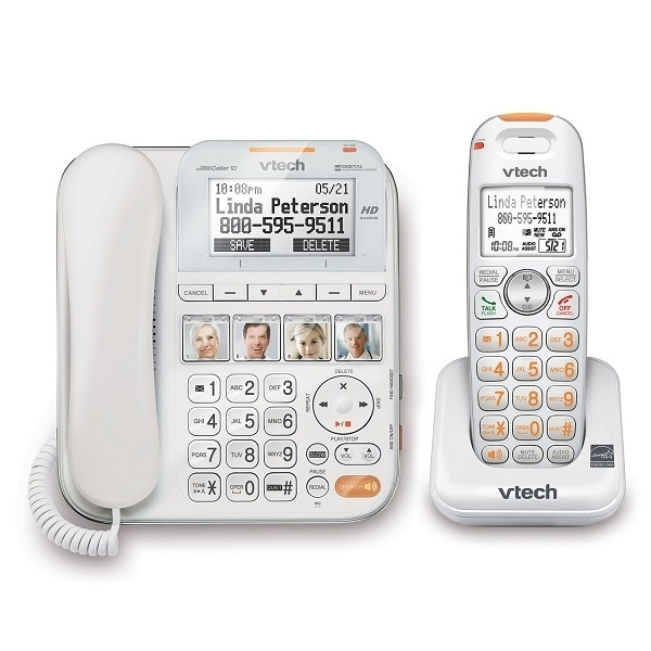 Vtech Careline Corded Cordless Answering System Nexhi