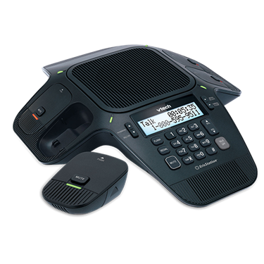 VTech VCS704 Eris-Station Conference Phone with Four Wireless Mics