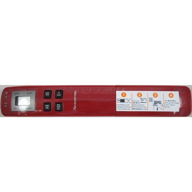 Pandigital S8X1102RD Handheld WIFI Wand Scanner - Red