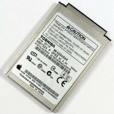 """Used - Toshiba Mk4004GAH 40GB IDE HDD1524 4200RPM 2MB 1.8"""" 8.0mm Hard Drive"""