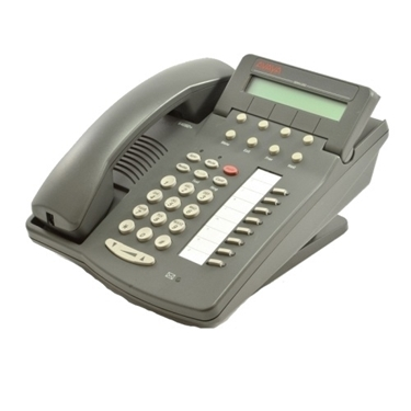 Refurbished - Avaya Definity 6408D+ Speaker Display Phone - Grey