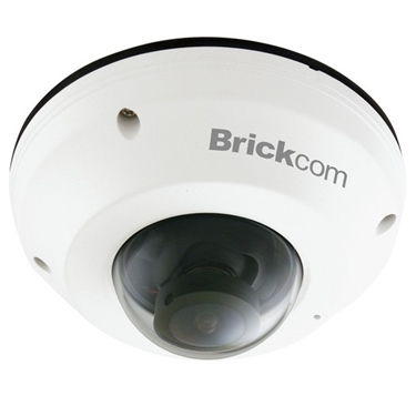 Brickcom MD-300NP-360 Superior Night Vision 3MP 360° Mini Dome Network Camera with PoE