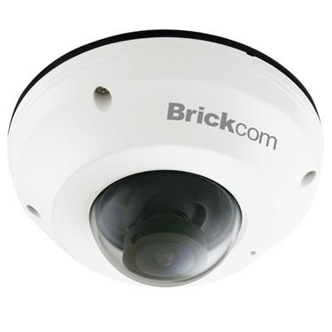 Brickcom MD-300NP-360 Superior Night Vision 3MP 360° Mini Dome Network Camera with PoE