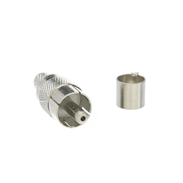 CableWholesale 200-060 RCA Coaxial Plug for RG59 Cable