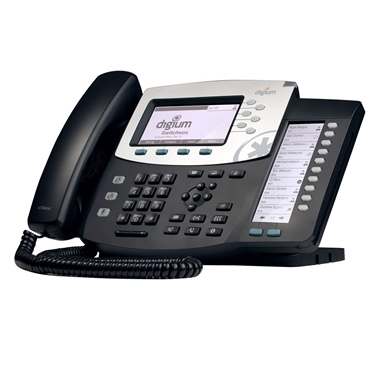 Digium 1TELD071LF D70 6-Line SIP Phone with HD Voice Backlit Display & Icon Keys
