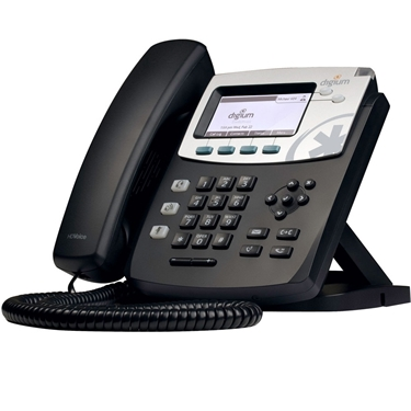 Digium 1TELD041LF D40 Phone without power supply