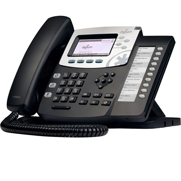 Digium 1TELD051LF D50 Phone without power supply