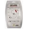 Bundle of 2 - ZipLINQ ZIP-AUDIO-IP2 Retractable 30-Pin Dock To 2 RCA Audio Cable