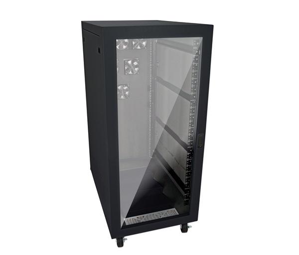 ... GizMac XR NRE2 25U US BLK 25U Rackmount Server Rack Enclosure Cabinet  ...