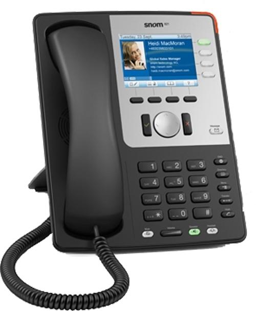 Snom 80211 Wireless Gigabit IP Phone 2346 Black