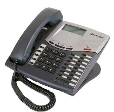 Refurbished-Intertel Axxess 550.8520 Display Phone-Charcoal
