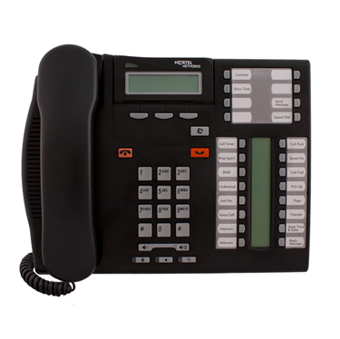 Refurbished-Nortel T7316E Display Phone NT8B27-Charcoal