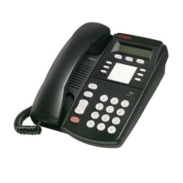 Refurbished - Avaya Merlin Magix 4406D+ Display Phone - Black,