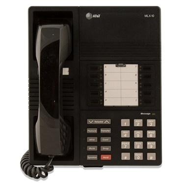 Refurbished-Avaya AVLEGMLX10-BLK-REF Legend MLX 10 Phone