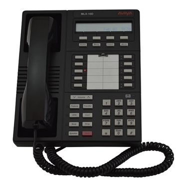 Refurbished - Avaya Legend MLX 10D Phone - Black