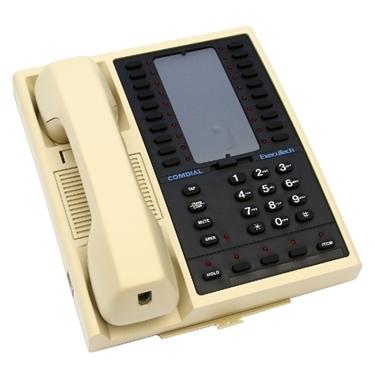 Comdial Executech 6620G-AB 20-Button Non-Display Phone (Ash)