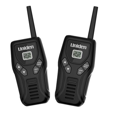 Uniden UN-GMR2050-2C 20 Mile Two-Way Radio FRS 2 Pack with USB Charger