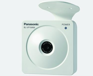 Panasonic BL-VP104wpVGA 640 X 480 H.264 Network Camera