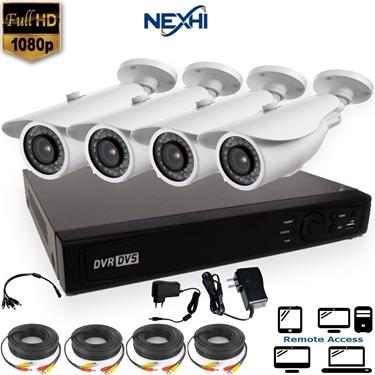 Nexhi NXH-TVI704-202Q3-DS 4CH 1080P HD-TVI DVR Complete Surveillance System