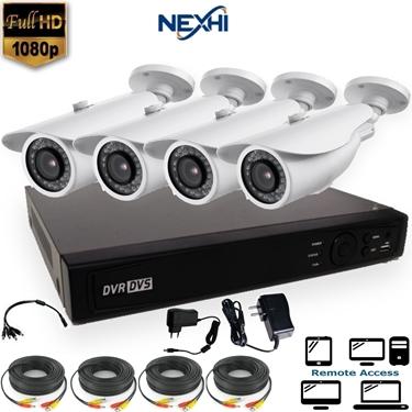 Nexhi NXH-TVI708-202Q3-DS 8CH 1080P HD-TVI DVR Complete Surveillance System