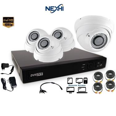 Nexhi NXH-TVI716-202DV6W-DS 16CH 1080P HD-TVI DVR Complete Surveillance System