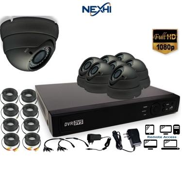 Nexhi NXH-TVI716-202DV6B-1DS 16CH 1080P HD-TVI DVR Complete Surveillance System