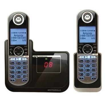 "Motorola MOTO-P1002 Cordless Phone with 2""Diagonal Display"