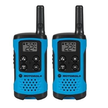 Motorola 2 Pack 16 Mile Range Blue Radios