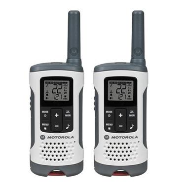 Motorola MOT-T260 2 Pack FRS 25 Mile Range NOAA Radios