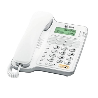 AT&T CL2909 Standard Corded Speakerphone with CID/CW