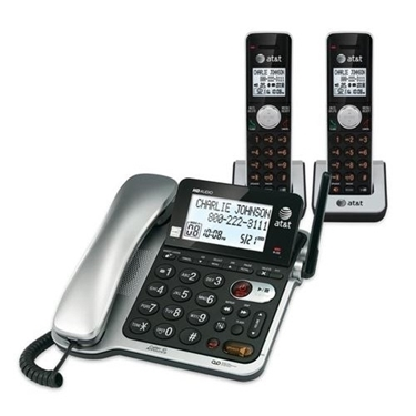 AT&T CL84202 2 Handset Corded/Cordless with CID